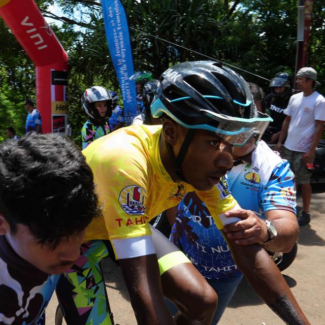 Stage 5 Axel Carnier éprouvé à son arriv