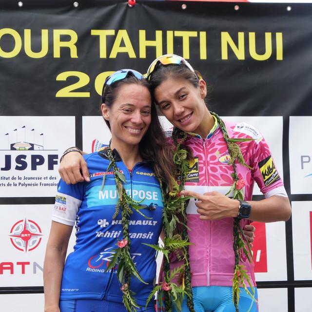 Stage 2 Podium féminin après la 2e étape