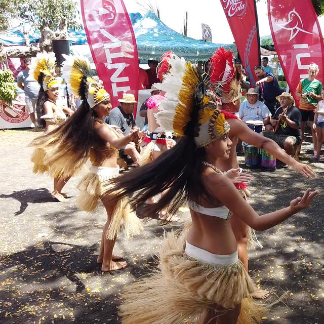 Stage 4.1 Danses tahitiennes à l'arrivée