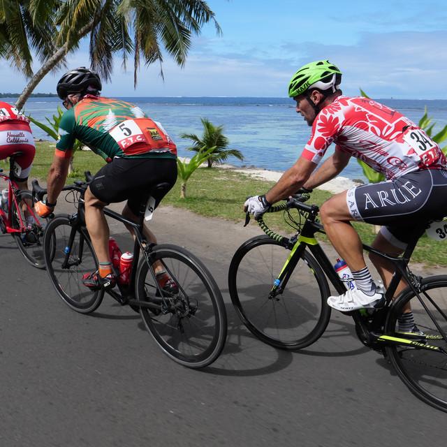 Stage 2 Trio de tête en début de course.