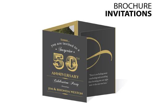 Brochure INVITATIONS