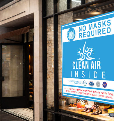 Clean-air-sign-for-budinesses-covid-19-s