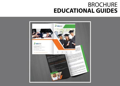 Brochure EDUCATIONAL GUIDES