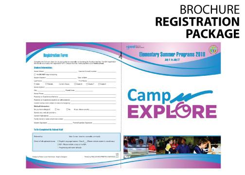 Brochure REGISTRATION FORMS