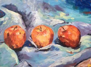 Three Apples
