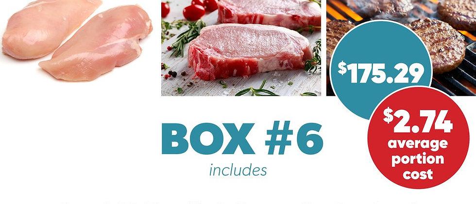 Box #6 - Frozen Protein