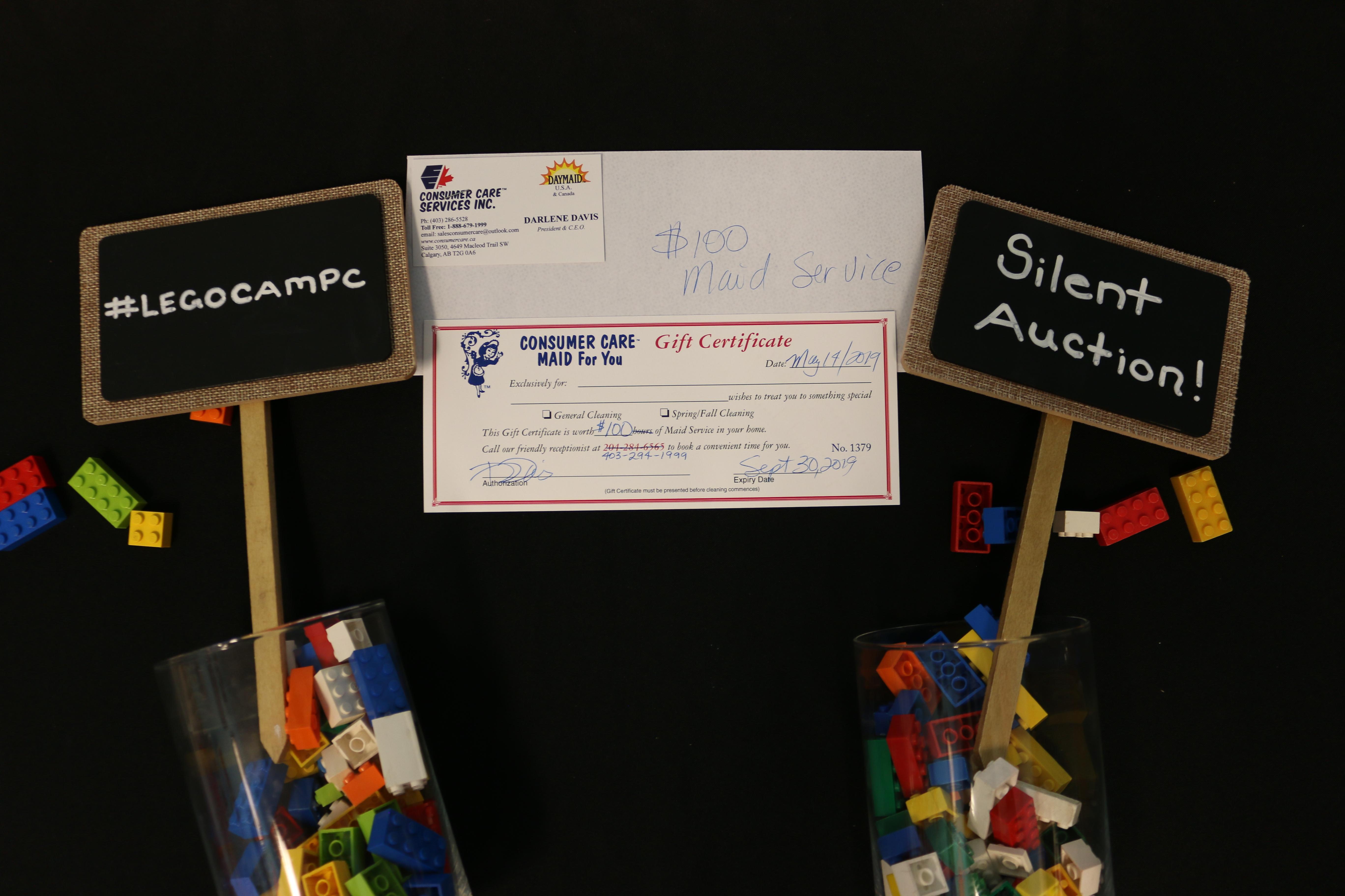 Consumer Care $100 Gift Certificate
