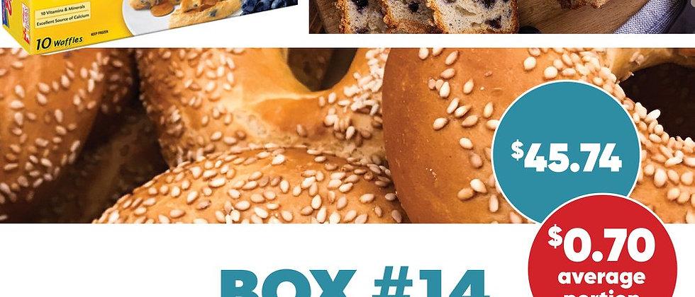 Box #14 - Frozen Breads