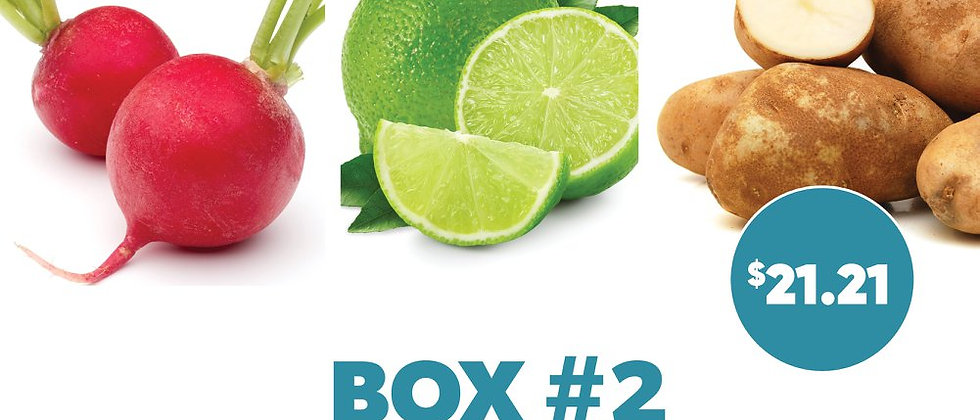Box #2 - Fresh Vegetables