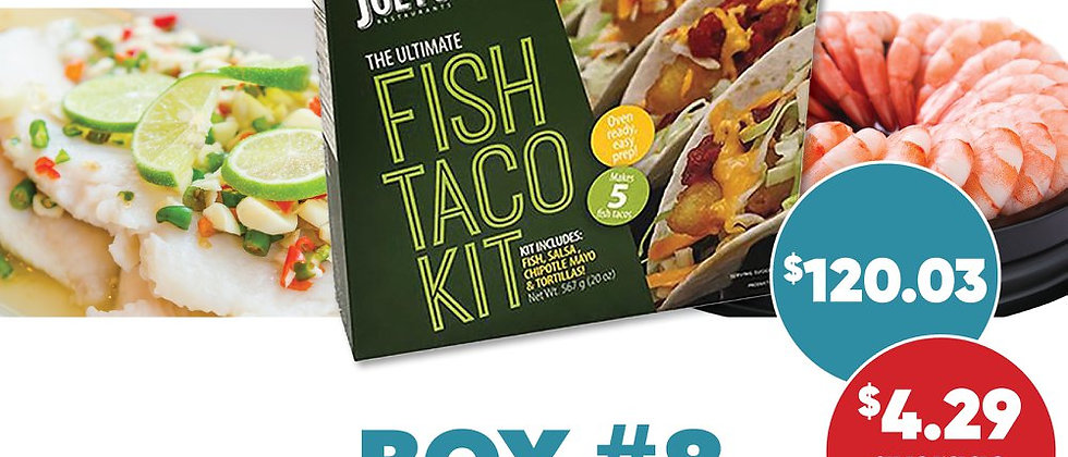 Box #8 - Frozen Seafood