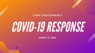 UPDATE: Response to COVID-19