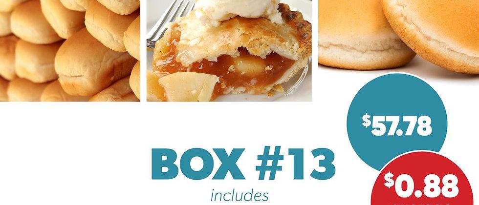 Box #13 - Frozen Breads