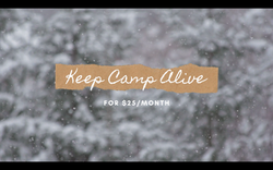 Keep Camp Alive Relaunch
