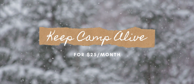 Keep Camp Alive Campaign