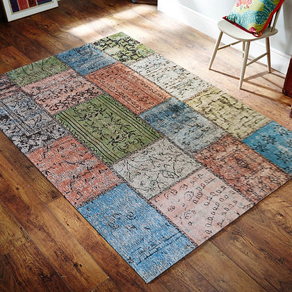 ALFOMBRA PATCHWORK ROYALE