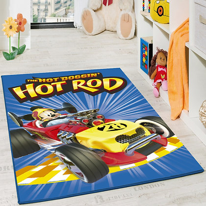 ALFOMBRA MICKEY ROAD RACERS