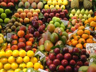Venta de frutas de sheviít