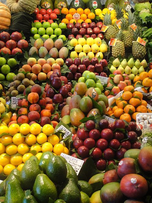 10 grab n' go fruit