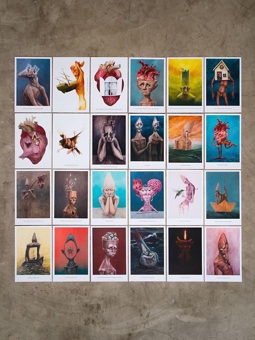 24 prints colecionáveis