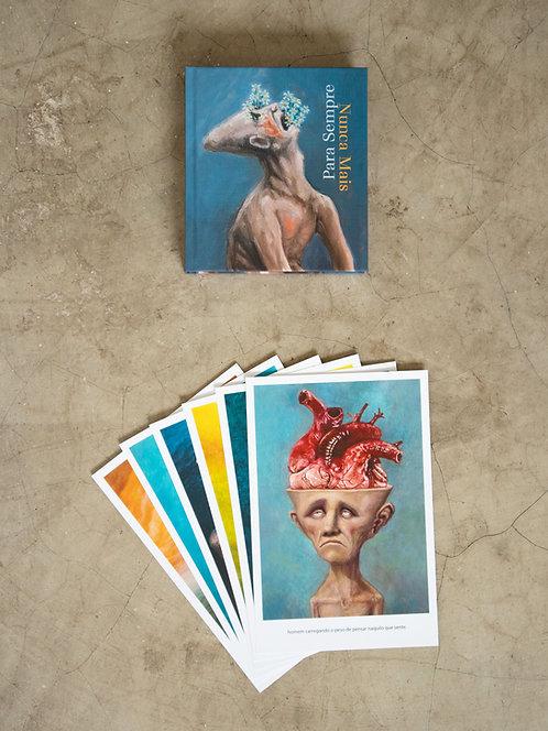 Livro — Para Sempre, Nunca Mais + 6 prints — 5ª coleção