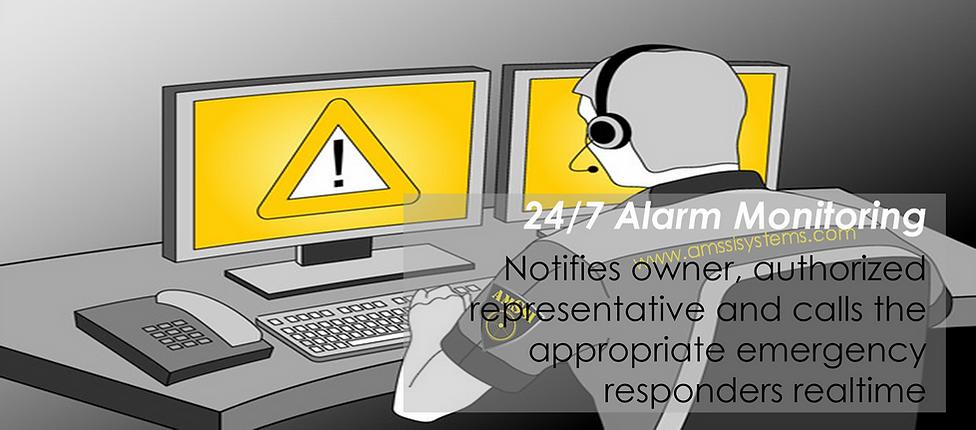 Central Alarm Monitoring, Alarm System