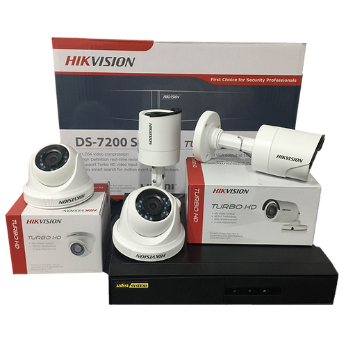 4CH 720p CCTV Package