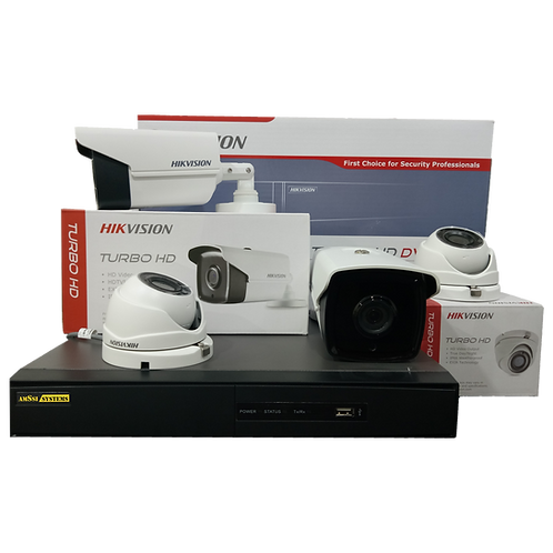 4CH 1080p CCTV Package