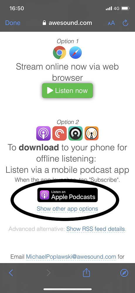Listen to csa gp on the move by clicking on the awesound medical audiobook page which will load into your apple podcast app
