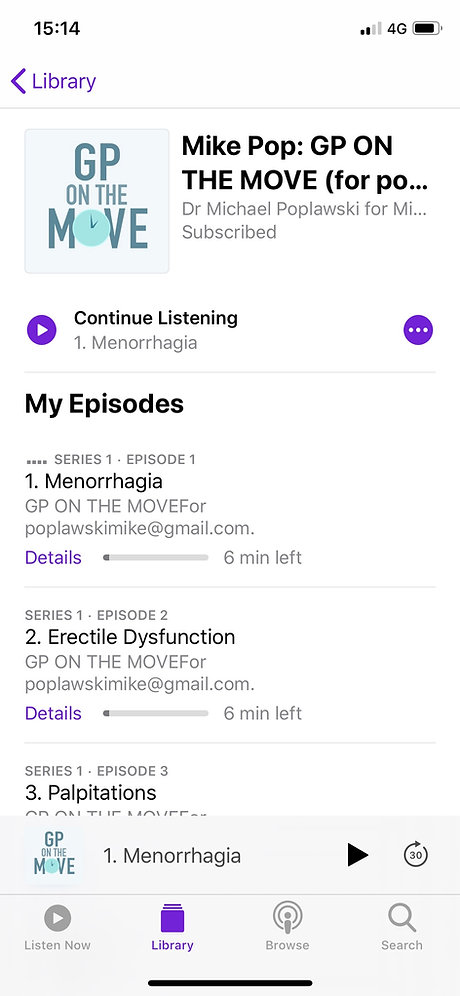 Csa gp on the move and all of the clinical topics will then be loaded into your preferred medical audiobook podcast app