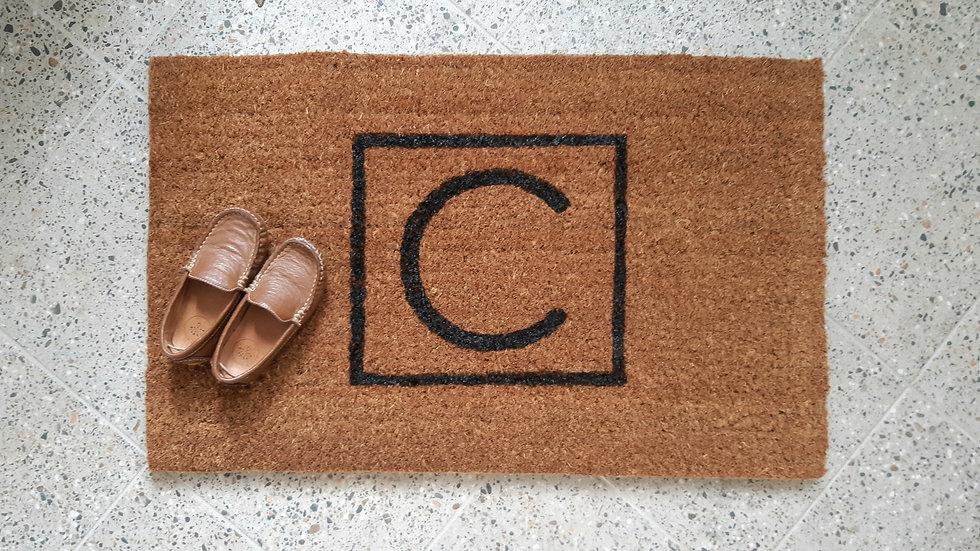 Custom Letter Doormat