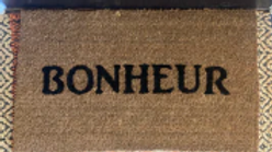 Custom Bold Doormat