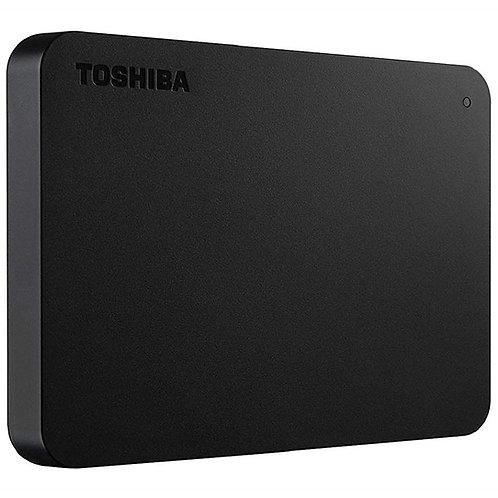 """TOSHIBA HDD 2.5"""" 1TB BASIC USB 3.0 PRETO EXTERNO"""