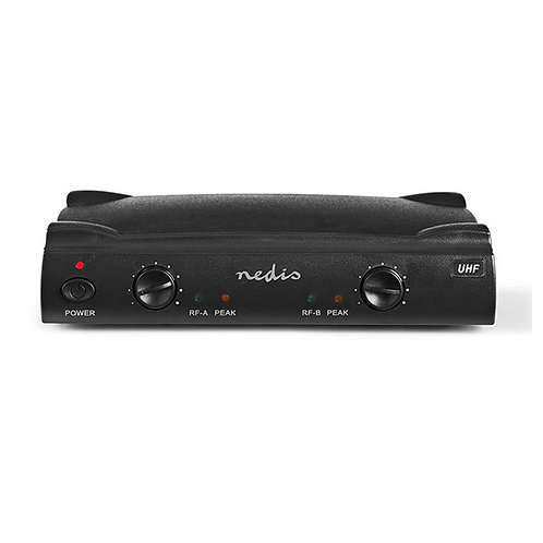 NEDIS MICROPHONE WIRELESS SET 2-CHANNEL 2 MICROPHONES INCL.