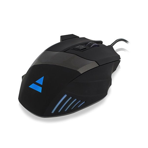 EWENT GAMING MOUSE 6 BUTTONS, 4 COLOURS 3200DPI
