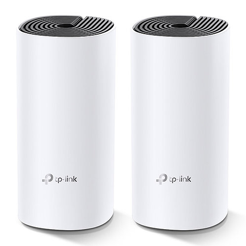 TP-LINK ROUTER AC1200 WHOLE-HOME WIFI SYSTEM DECO E4 (2 PACK)