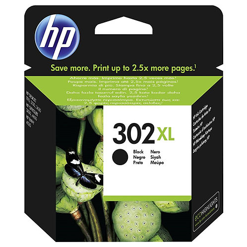 HP TINTEIRO PRETO Nº302 XL