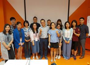 本週五 #企業永續講師培力暨認證班 上午的課程邀請到 B 型企業協會黃惠敏秘書長