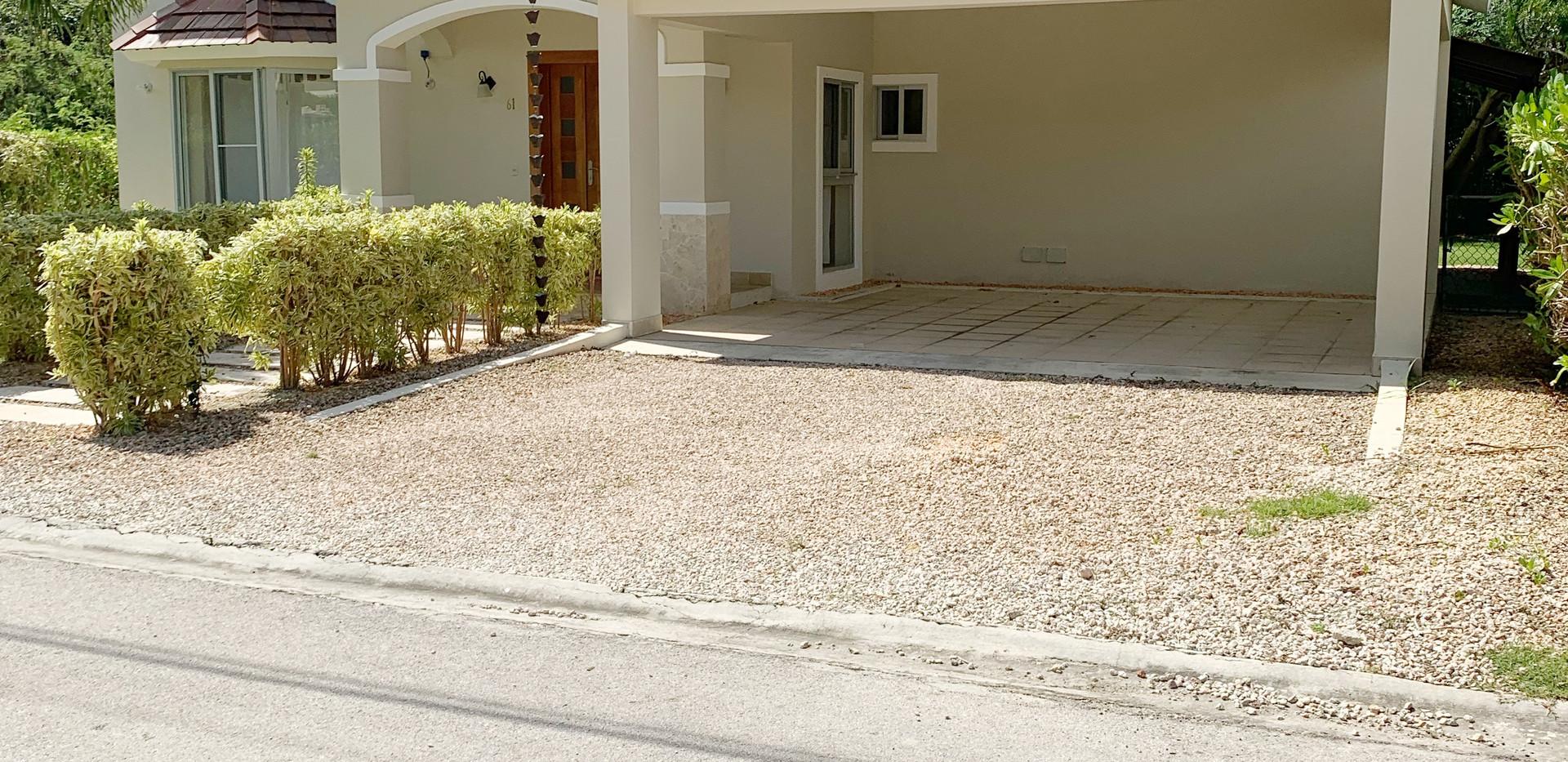 front left villa olivo punta cana villag