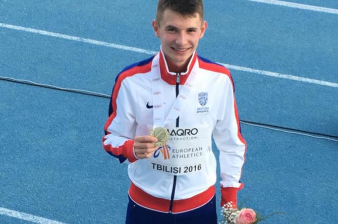 Former Soccer School Member wins International 800m Gold Medal
