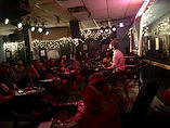 Cary Farley performing at the Blue Bird Cafe in Nasville