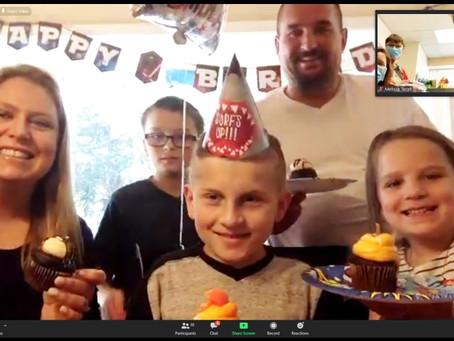 Caleb celebrates 10 years!