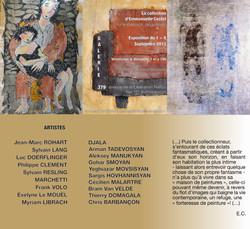 Affiche collection d'EMmanuelle Costet