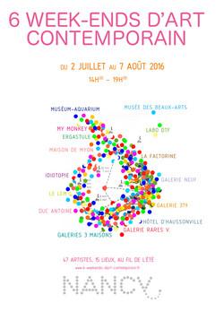 6 Week End d'art contemporain