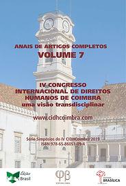 CIDHCoimbra 2019 - VOLUME 7 (Frente) web