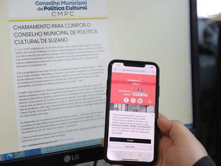 Suzano abre inscrições para o Conselho de Política Cultural