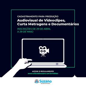 Cultura disponibiliza cadastramento de projetos para o audiovisual