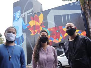 Painel 'Desperta Cidade das Flores' é concluído