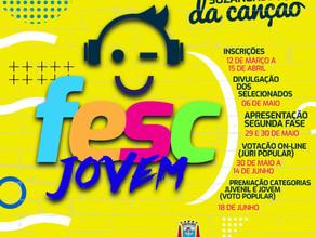 Cultura abre inscrições para o Festival da Canção online para jovens