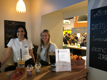 Smoothie Cateirng Messe