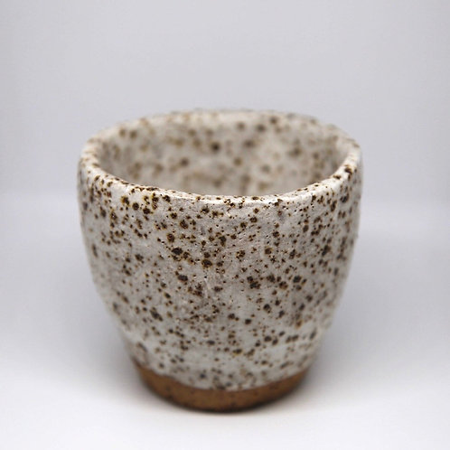 White Speckled Cup